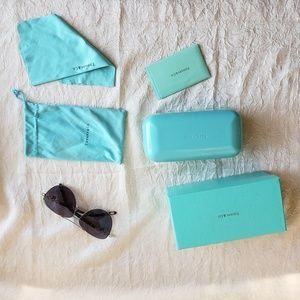 Tiffany and Company Aviator Sunglasses Women